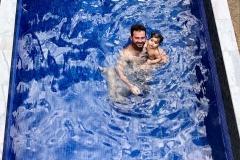 Rectangular 4.8m long x2.48m wide Pool