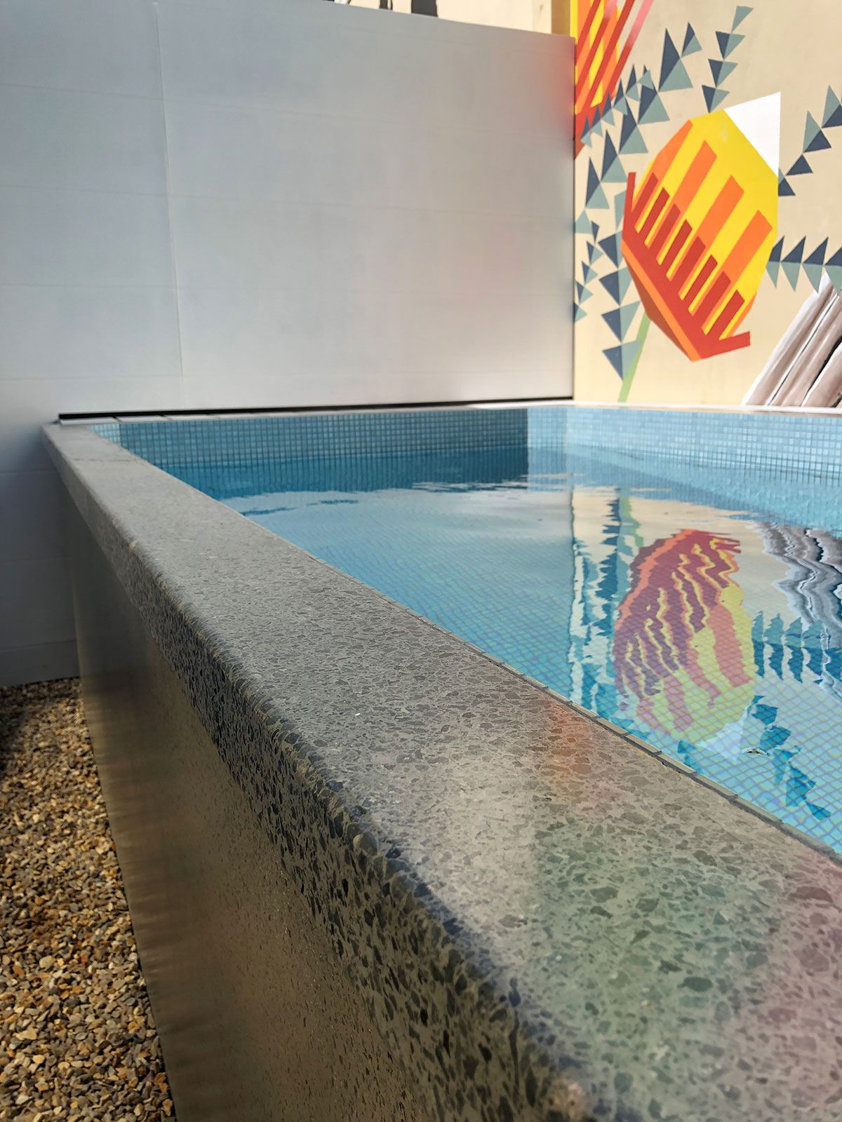 Rectangular Plunge Pool